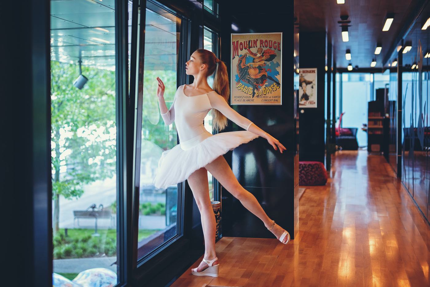 Čo nosia baletky, keď sú bez špičiek?