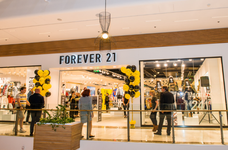 Forever 21 – launch of the brand