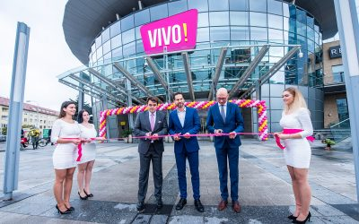 Kde Polus City Center končí, VIVO! začína – rebranding love brandu